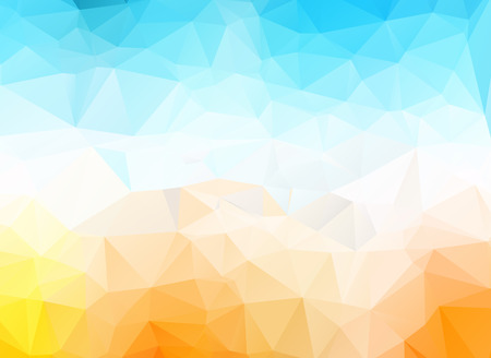 polygonal triangular modern design background