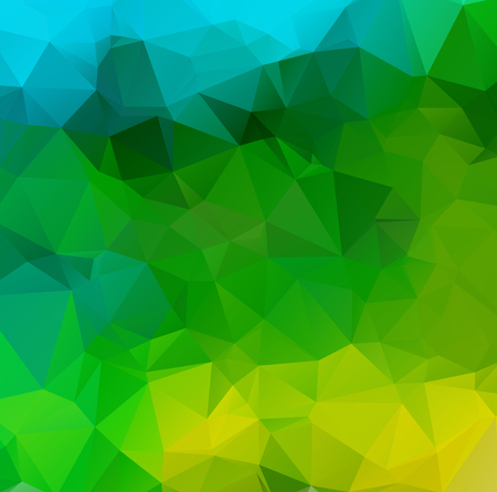 yellow: Abstract  Triangle Geometrical Background, Vector Illustration Modern Design Vector