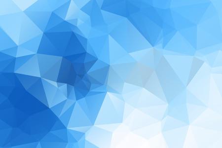 azul: Fundo abstrato do vetor para o uso no projeto Ilustração