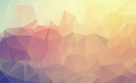 abstract vector background: Abstract multicolor background. Vector polygonal design illustration graphic