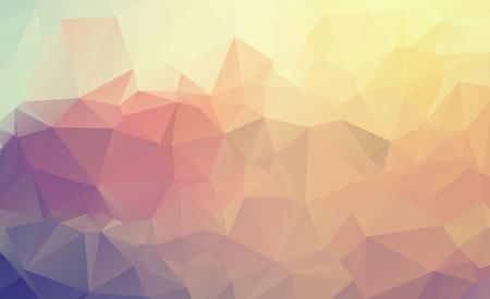 multicolore sfondo astratto. Disegno vettoriale illustrazione grafica poligonale Vettoriali