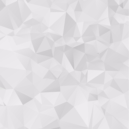 White background polygonal design Light Color white illustration Triangular which consist fo Geometric