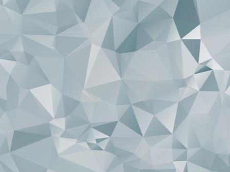 diamond shaped: Abstract white polygonal background design templates or Light white background illustration Illustration