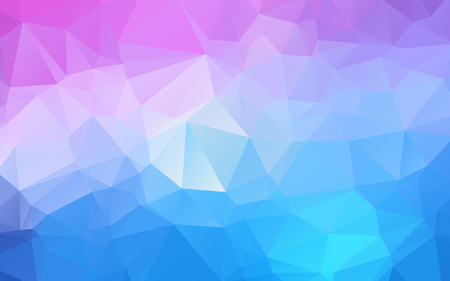 Purple colorful geometric background Origami style with moasic background or light purple background