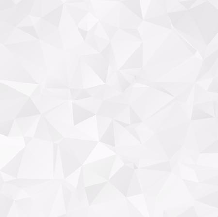 White background polygonal design Light Color white illustration Triangular which consist fo Geometric