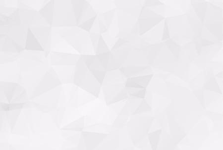 diamond shaped: Abstract white polygonal background design templates or Light white background illustration. Illustration