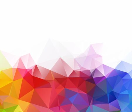 Abstract Geometric backgrounds full Color Иллюстрация