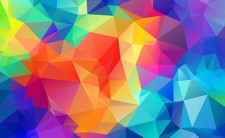 Abstract Geometric backgrounds full Color Ilustração