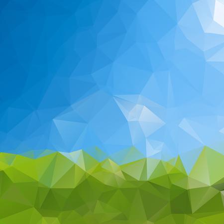 pattern: Artistic triangle shapes in random pattern design ,vector design illustration