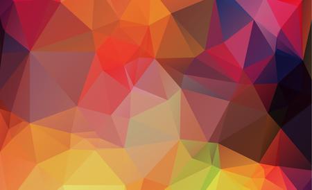 多角形の抽象的な背景色青の三角形から成る。