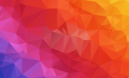 Een laag poly geometrisch sjabloon ontwerp.