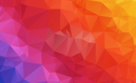 A low poly geometric template design.