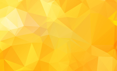 Seamless triangular template. Geometric sample. Repeating routine with triangle shapes. Seamless texture for your design. Pattern can be used for background Yellow vector Pattern Illustration