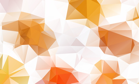 low poly geometric background consisting of triangles of different sizes and colors Illustration