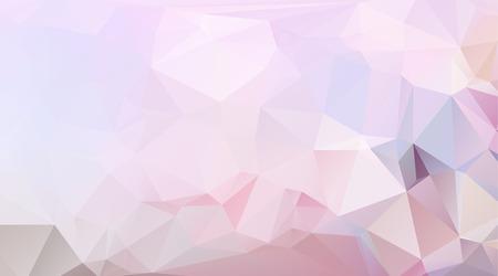 三角形のピンク、紫の色から成る olygonal 抽象的な背景