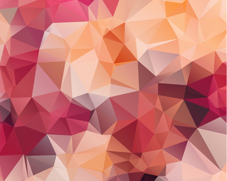 Multicolor purple, pink polygonal illustration pattern design. Illustration