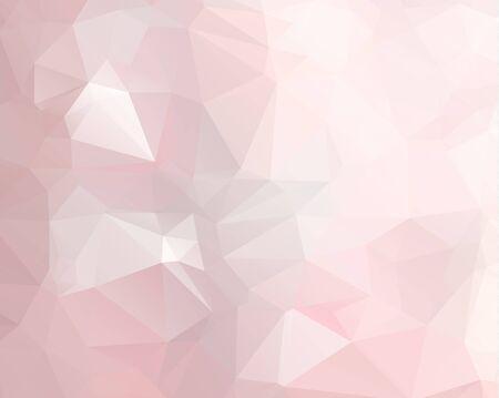 Pink geometric shape pattern design.