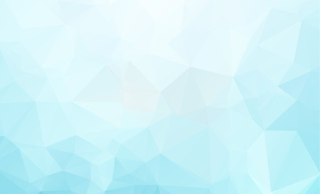 Blue Light Polygonal Low polygon Triangle Pattern Background
