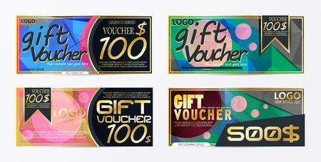 Gift voucher template design