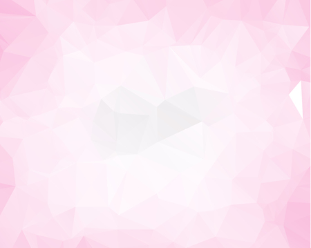 Pink triangle background design. Geometric background in Origami style with gradient.