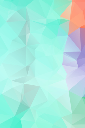 Abstract Geometric backgrounds full Color Ilustração