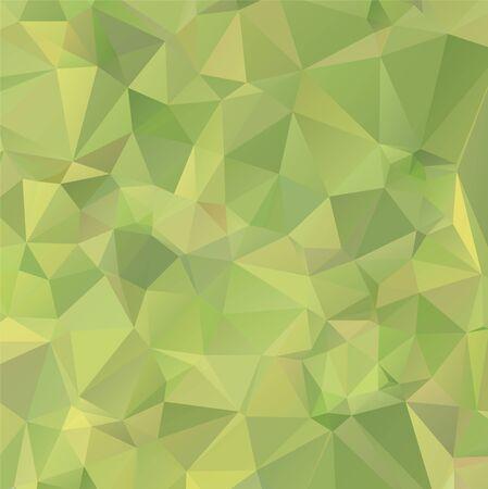 Hellgrüner Vektorpolygonzusammenfassungshintergrund. Polygonaler abstrakter Vektor mit Farbverlauf. Strukturiertes Muster für Ihre Hintergründe Vektorgrafik