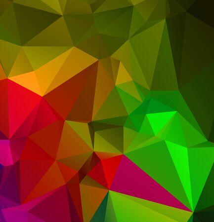 Abstract multicolor emerald green background. Vector polygonal design illustrator Vektorové ilustrace
