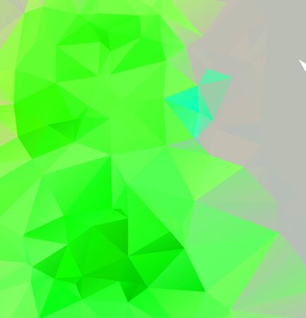Abstract multicolor emerald green background. Vector polygonal design illustration