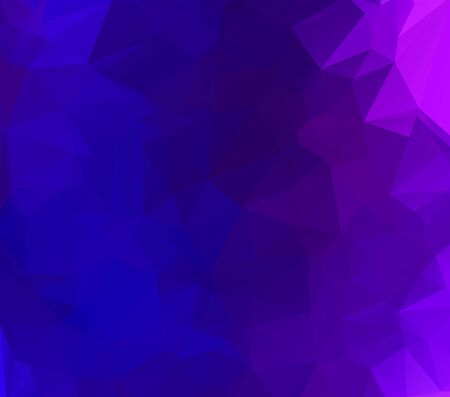 Abstract multicolor purple and blue background. Vector polygonal design illustration Stock Illustratie