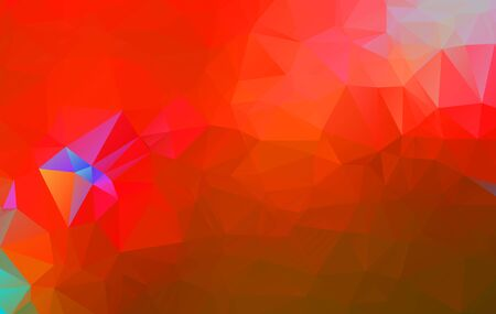 Abstract multicolor Orange and red background. Vector polygonal design illustration
