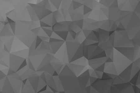 Vector Abstract geometric darkness black shape polygonal style