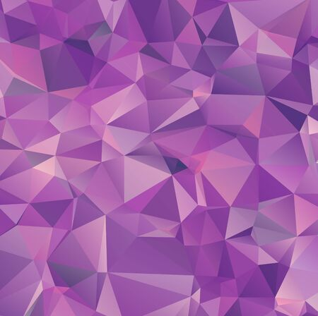 Light purple vector polygon abstract backdrop. Polygonal with gradient. Texture pattern for your backgrounds