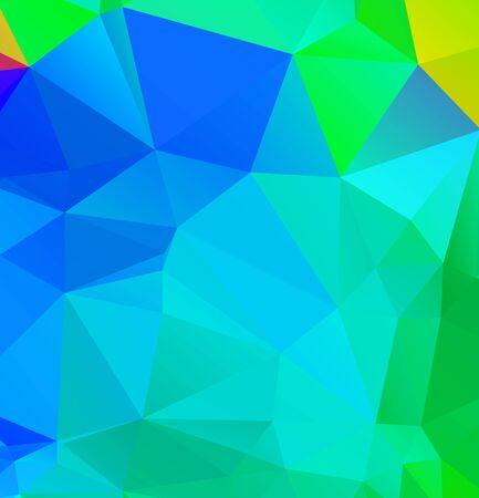 Abstract multicolor emerald green background. Vector polygonal design illustration Vektoros illusztráció