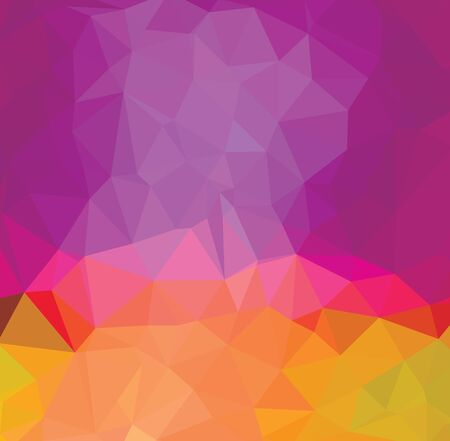 Abstract multicolor blue and purple background. Vector polygonal design illustration