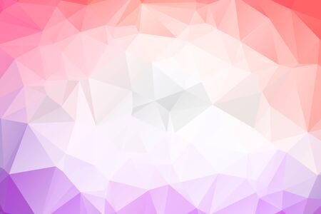 Abstract Geometric backgrounds full Color Vector Illustratie