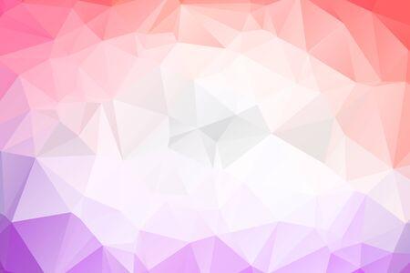 Abstrakcyjne geometryczne tła w pełnym kolorze Ilustracje wektorowe