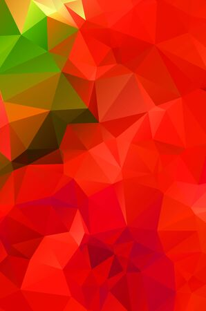 Abstract red geometric background for design Stock Illustratie