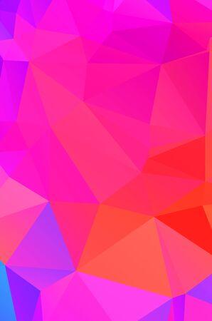 Light pink polygonal design pattern