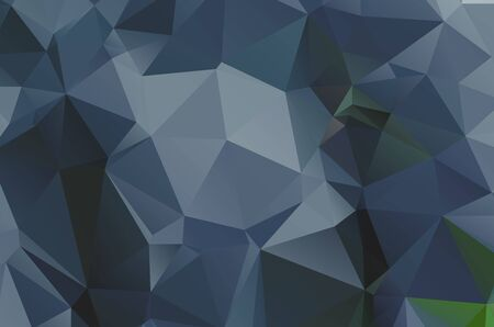 Dark low poly template Glitter abstract illustration with an elegant design esign
