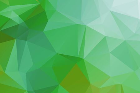 light Green geometric designs. Vector, multicolor geometric background
