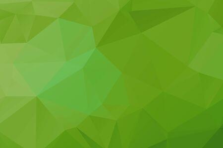 light Green geometric designs. Vector, multicolor geometric background
