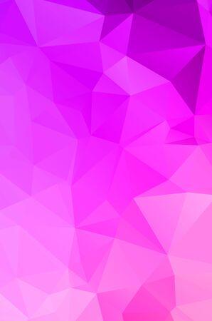 Purple vivid polygonal abstract background Ilustración de vector