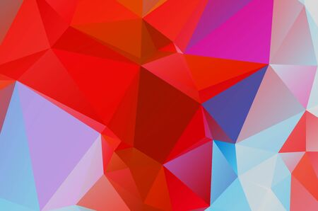 Abstract red geometric background for design 矢量图像
