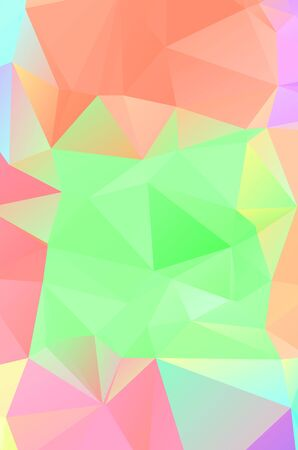Geometric designs. Vector, multicolor geometric background. Triangles, vivid in the style of cubism Фото со стока - 150465851