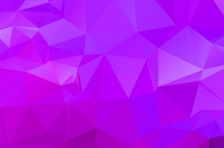 Purple abstract geometric pattern, triangles background, polygonal
