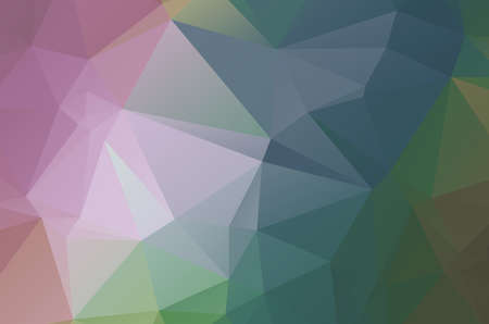 Multi color geometric triangular low poly background style