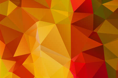 golden and reddish brown geometric pattern triangles polygonal design for web and background, application