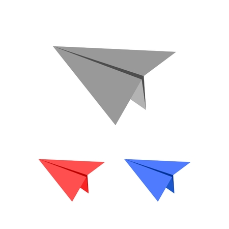 paper plane: Flying paper plane