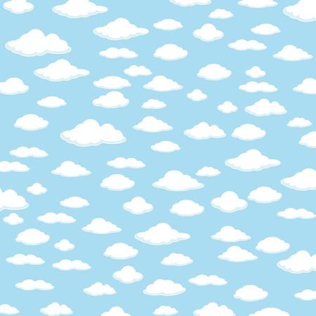 Fondo Del Cielo. Fondo de nubes.