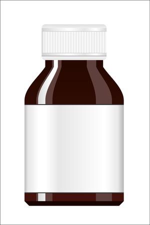 pill bottle: Medicine Bottle. Syrup medicine bottle. Pill Bottle. Capsule bottle. Illustration